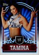 2011 Topps WWE Classic Wrestling Tamina 64