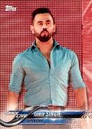 2018 WWE Wrestling Cards (Topps) Samir SIngh 81