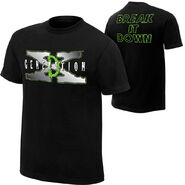 D-Generation X Break It Down T-Shirt