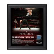 Finn Bálor No Mercy 2017 15 x 17 Framed Plaque w Ring Canvas
