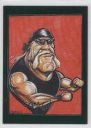 2013 TNA Impact Wrestling Live Trading Cards (Tristar) Hulk Hogan 100