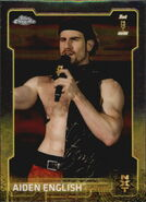 2015 Chrome WWE Wrestling Cards (Topps) Aiden English 91