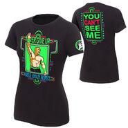 John Cena Neon Authentic women'sT-Shirt