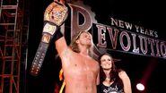 New Years Revolution 2006 Edge wins WWE Championship