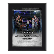 Rhyno and Slater No Mercy 2016 10 x 13 Photo Plaque