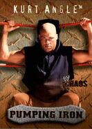 2004 WWE Chaos (Fleer) Kurt Angle 88