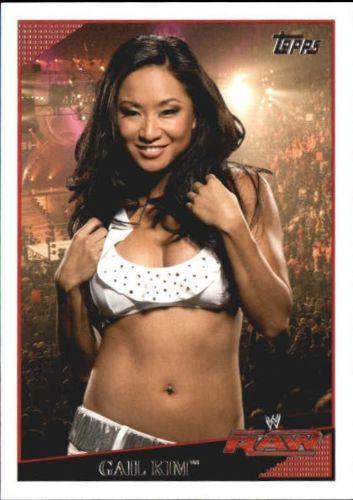2009 WWE (Topps) Gail Kim (No.52)