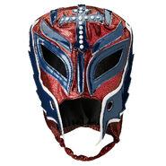 Rey Mysterio Royal Rumble 2019 Maroon-Blue Replica Mask