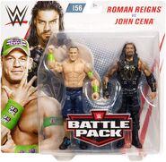 WWE Battle Packs 56 John Cena & Roman Reigns