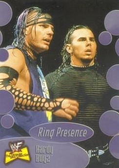 2001 WWF The Ultimate Diva Collection (Fleer) Hardy Boyz (No.61)