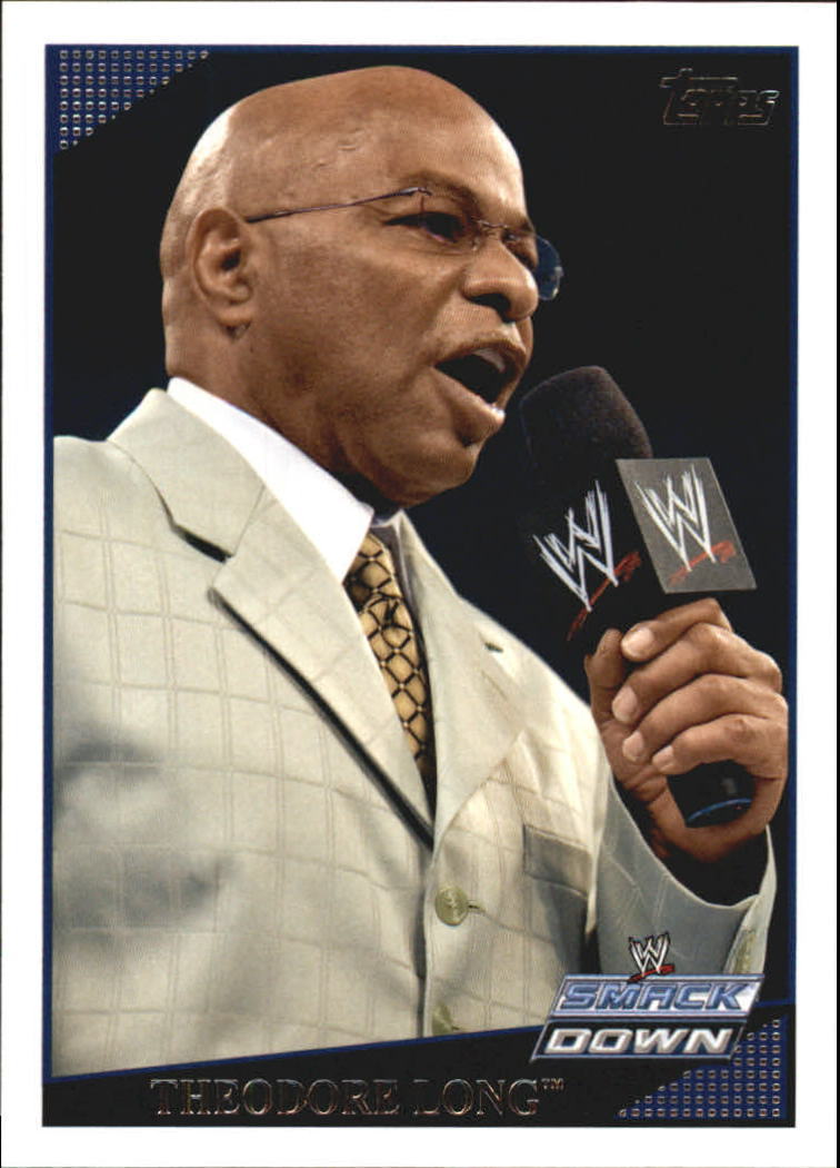 2009 WWE (Topps) Theodore Long (No.54)