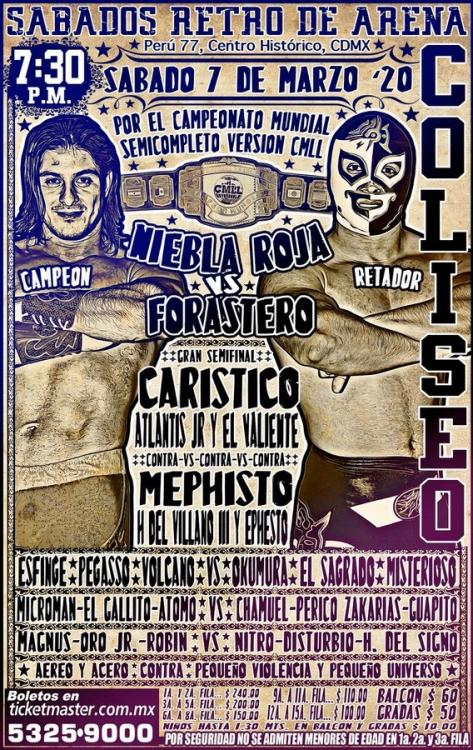 CMLL Sabados De Coliseo (March 7, 2020)