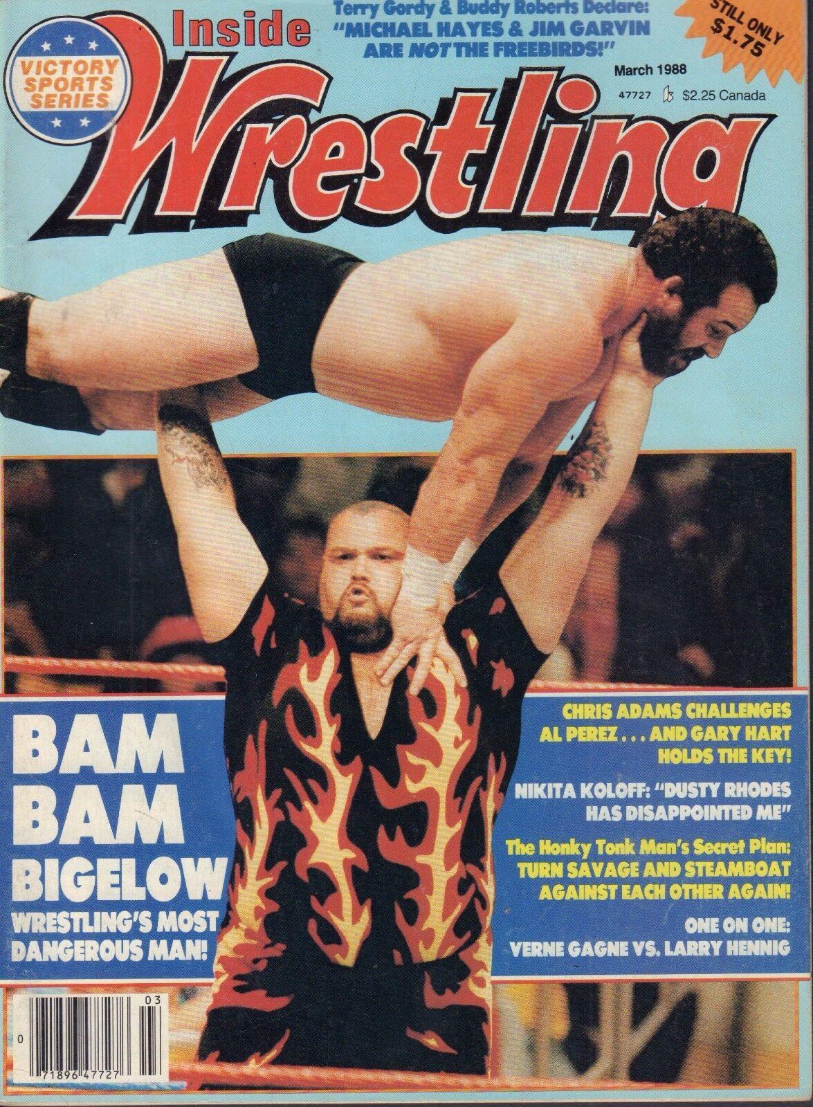 Inside Wrestling - March 1988