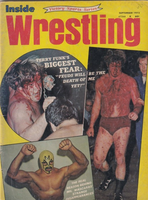 Inside Wrestling - September 1972