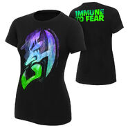 Jeff Hardy Immune to Fear Women's Authentic T-Shirt