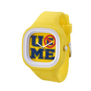 John Cena U Can't C Me Flex Watch - yellow