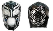 Rey Mysterio Black Silver Replica Mask