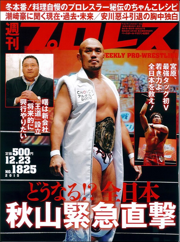 Weekly Pro Wrestling No. 1825