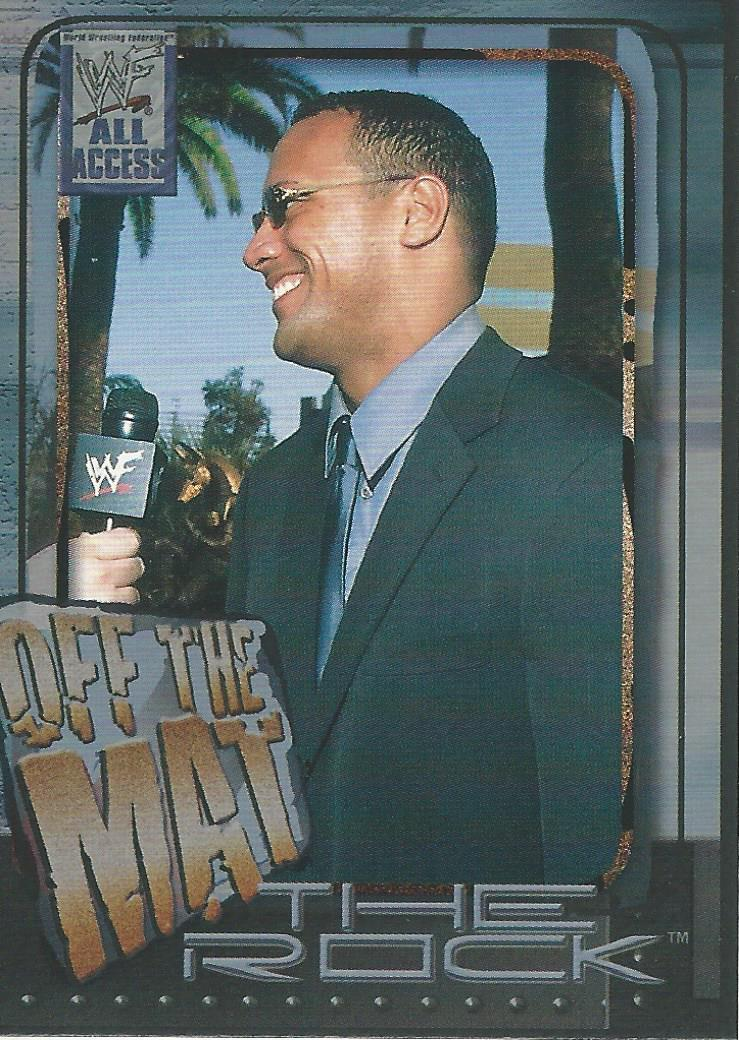 2002 WWF All Access (Fleer) The Rock (No.75)