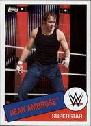 2015 WWE Heritage Wrestling Cards (Topps) Dean Ambrose 71