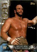 2017 Legends of WWE (Topps) Macho Man Randy Savage 59