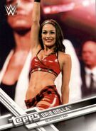 2017 WWE (Topps) Then, Now, Forever Brie Bella 102