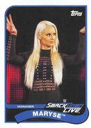 2018 WWE Heritage Wrestling Cards (Topps) Maryse 48