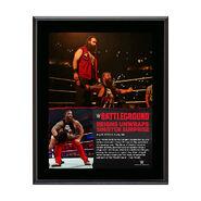 Bray Wyatt Battleground 10.5 x 13 Photo Collage Plaque