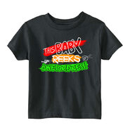 Edge & Christian This Baby Reeks of Awesomeness Toddler T-Shirt