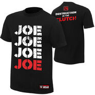 Samoa Joe Destruction in the Clutch Authentic T-Shirt