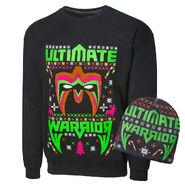 Ultimate Warrior Ugly Holiday Sweatshirt & Beanie Package