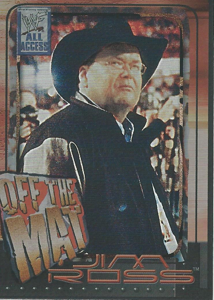 2002 WWF All Access (Fleer) Jim Ross (No.76)
