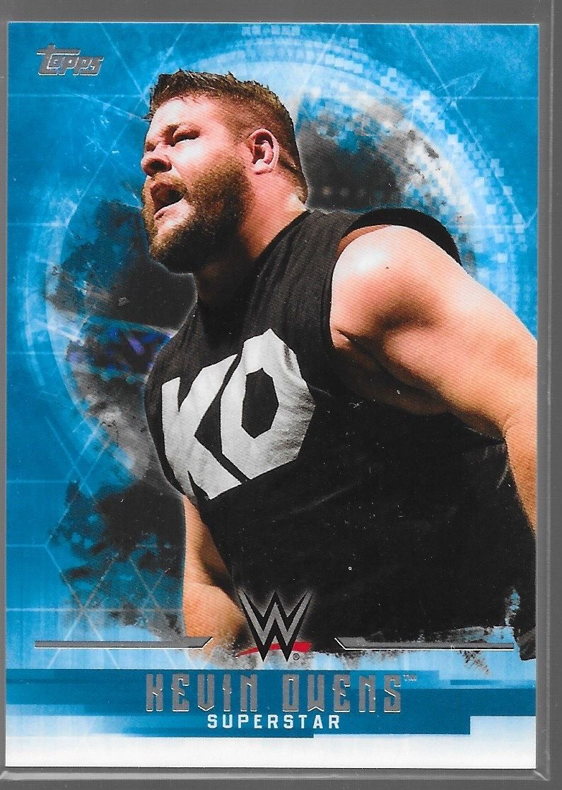 2017 WWE Undisputed Wrestling Cards (Topps) Kevin Owens (No.20)