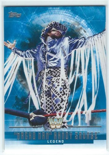 2017 WWE Undisputed Wrestling Cards (Topps) Randy Savage (No.63)