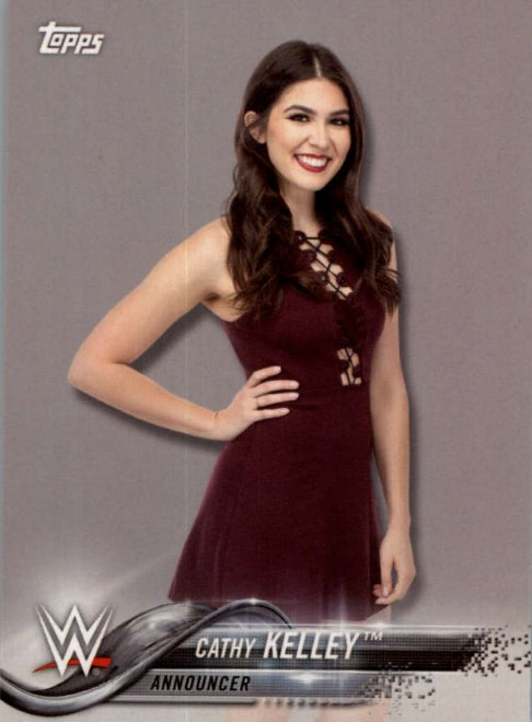 2018 WWE Wrestling Cards (Topps) Cathy Kelley (No.21)