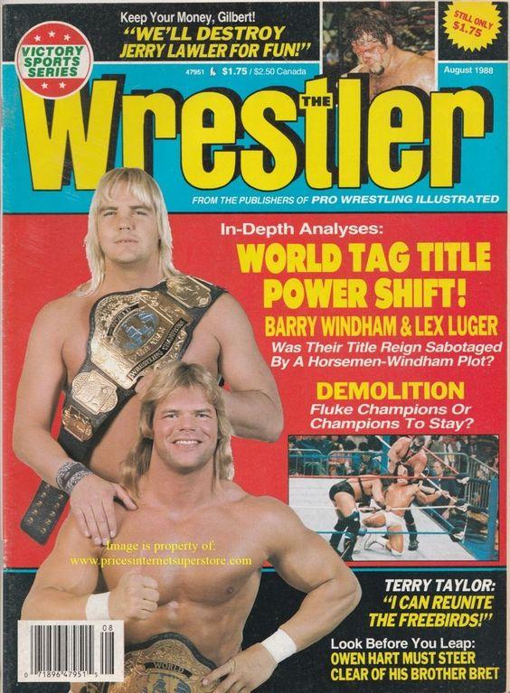 The Wrestler - August 1988