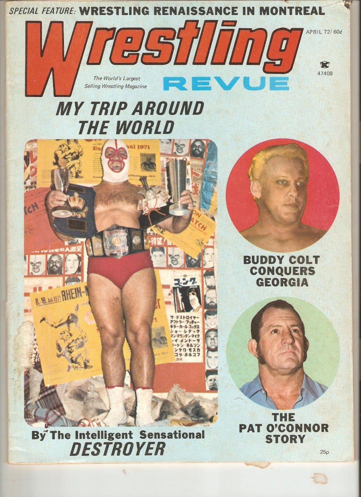 Wrestling Revue - April 1972