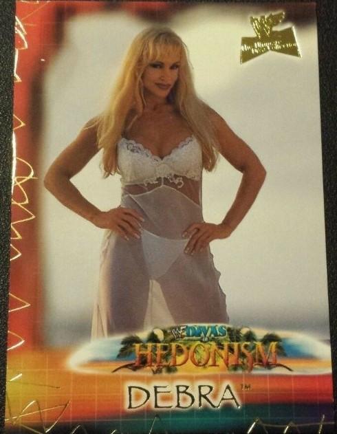 2001 WWF The Ultimate Diva Collection (Fleer) Debra (No.86)