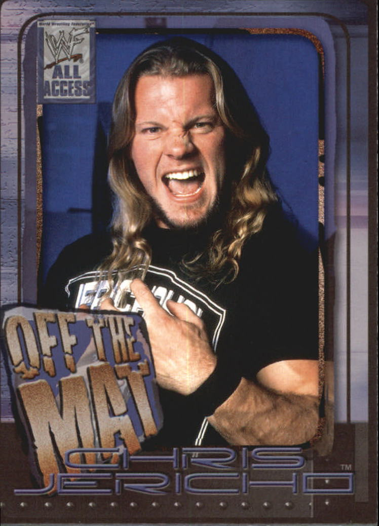2002 WWF All Access (Fleer) Chris Jericho (No.70)