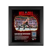 Alexa Bliss Hell in A Cell 2021 15 x 17 Commemorative Plaque