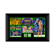 Charlotte Flair WrestleMania 34 Signed Commemorative Plaque