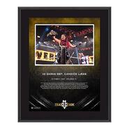 Io Shirai NXT Takeover 31 10 x 13 Commemorative Plaque