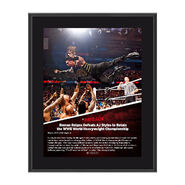 Roman Reigns Payback 2016 10 x 13 Photo Collage Plaque