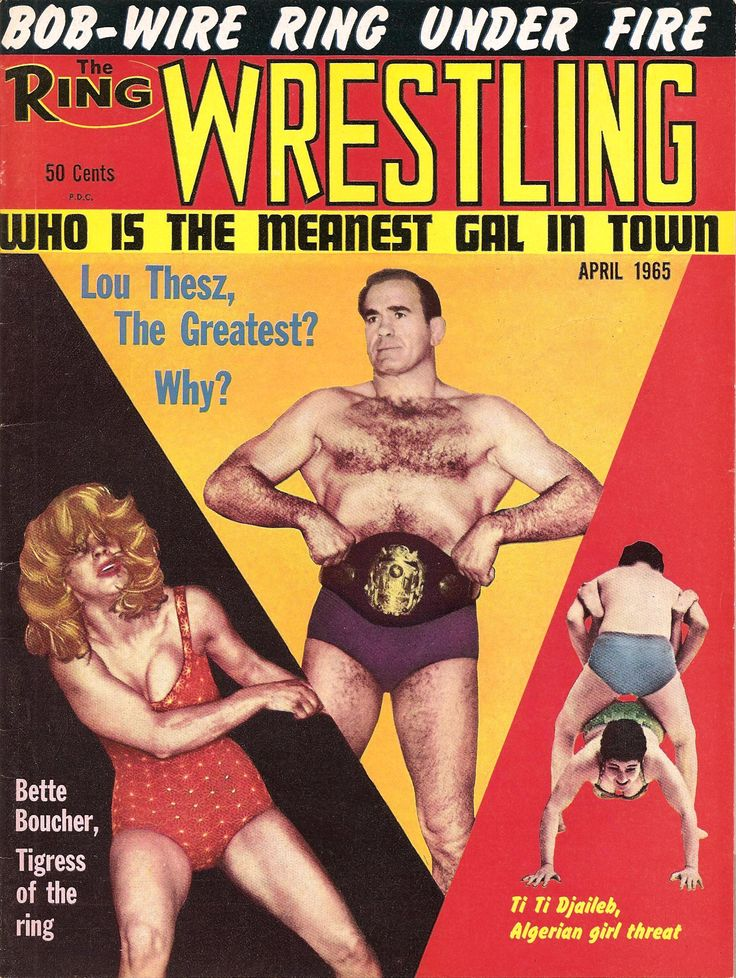 The Ring Wrestling - April 1965