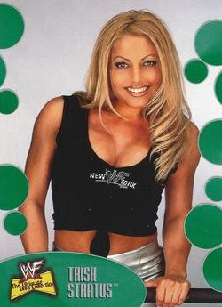2001 WWF The Ultimate Diva Collection (Fleer) Trish Stratus (No.15)