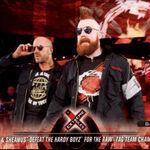 2018 WWE Road to Wrestlemania Trading Cards (Topps) Cesaro & Sheamus 39.jpg
