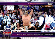 2019 WWE Road to WrestleMania Trading Cards (Topps) Kalisto 42