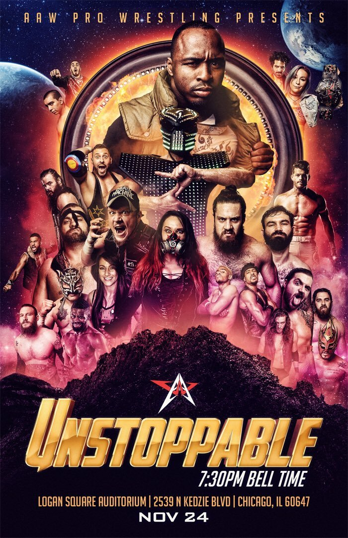 AAW Unstoppable 2018
