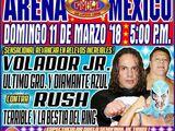 CMLL Domingos Arena Mexico (March 11, 2018)
