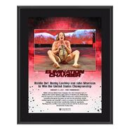 Riddle Elimination Chamber 2021 10x13 Commemorative Plaque